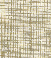 "Keepsake Calico™ Cotton Fabric 43""-Crosshatch Gold Metallic, , hi-res"