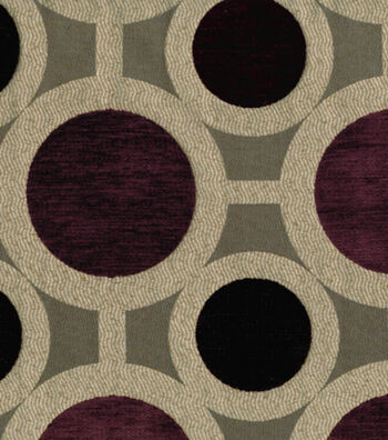 "Richloom Studio Upholstery Fabric 55""-Conspiracy Mulberry"