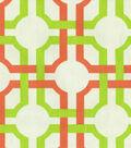 54\u0022 Modern Essentials Lightweight Decor Fabric-Groovy Grille Seaglass