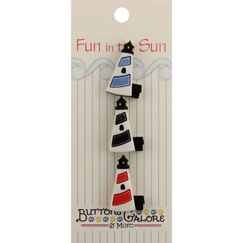 Fun In The Sun Buttons-Lighthouse