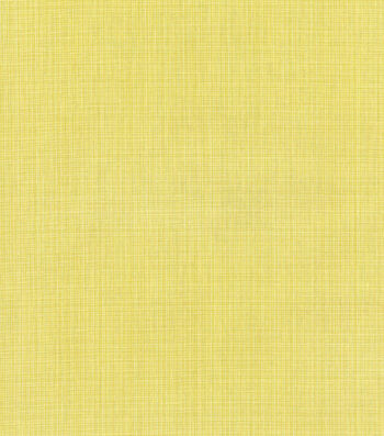 "Home Decor 8""x8"" Swatch Fabric-Williamsburg Stratford Strie Sunshine"