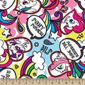 My Little Pony Doodle Fleece Fabric
