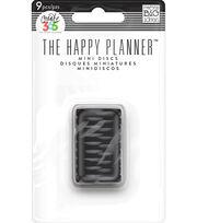 """Create 365 Planner Discs-Black .7"""", , hi-res"""