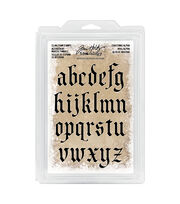 Tim Holtz® Idea-ology® Cling Foam Stamps-Christmas Lowercase Alpha, , hi-res