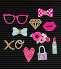 DCWV Home 11 Pack Letter Board Icons-Boss Lady