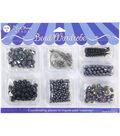 Blue Moon Beads Black Wardrobe Beads