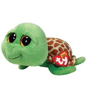 TY Beanie Boo Zippy Green Turtle