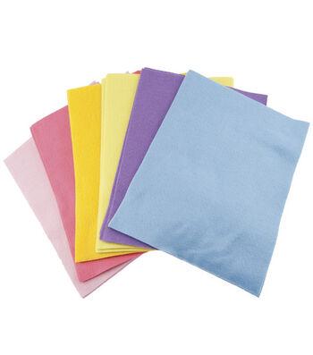 """Classic Soft Felt 9""""X12"""" 25/Pkg-Pastel Colors"""