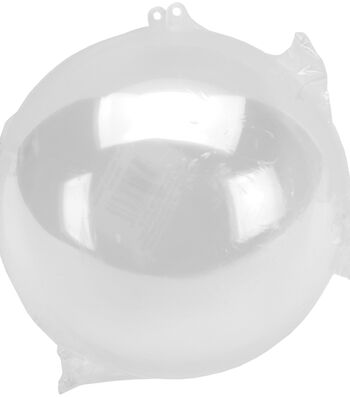 Darice Hanging Ball Ornament 140mm-Clear