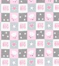 Nursery Flannel Fabric 42\u0022-Dream Big Patch