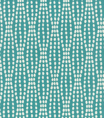 "Waverly Upholstery Fabric 55""-Strands Teal"