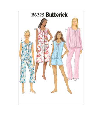 Butterick Misses Sleep & Lounge-B6225