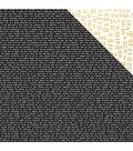 Kaisercraft A Touch Of Gold 12\u0027\u0027x12\u0027\u0027 Double-Sided Cardstock-Sheen
