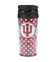 Indiana University Polka Dot Travel Mug, , hi-res