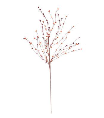 Blooming Autumn 28'' Pepper Berry Spray-Red & Orange