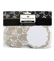 Buttercream™ Audrey Collection Designer Table Tents, , hi-res