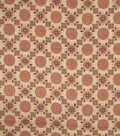 Home Decor 8\u0022x8\u0022 Fabric Swatch-Jaclyn Smith Imogene Garden Spice