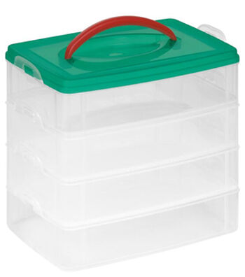 """Snapware® Snap 'N Stack® 4 Layer 6"""" x 9"""" Storage Container"""