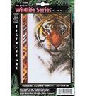 Janlynn Counted Cross Stitch Kit Tiger Wildlife
