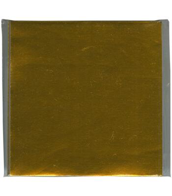 "Origami Paper 3""X3"" 100/Pkg-Gold Foil"