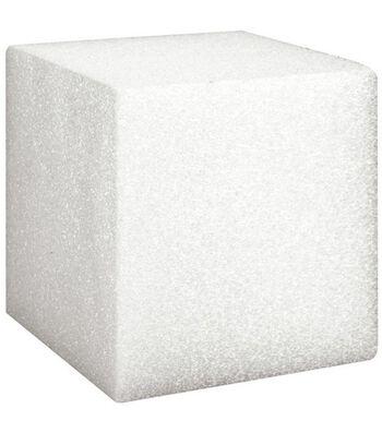 "Floracraft 5""x5""x5"" Styrofoam Cubes-12PK/White"