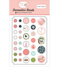 Carta Bella Decorative Brads with Cardstock Tags-Rock A Bye Baby Girl