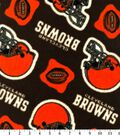 Cleveland Browns Fleece Fabric 58\u0022-Logo