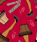 A Christmas Story Fleece Print Fabric 57\u0027\u0027-Leg Lamp
