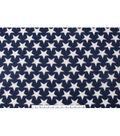 Blizzard Fleece Fabric 59\u0022-Stars On Navy