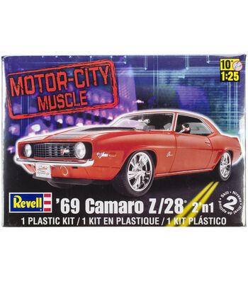 Plastic Model Kit-'69 Camaro Z/28 2-In-1 1:25