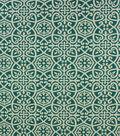Optimum Performance Acrylic Fabric 54\u0027\u0027- Teal Geometrics