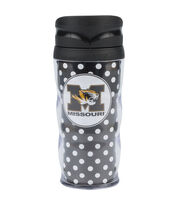University of Missouri Polka Dot Travel Mug, , hi-res