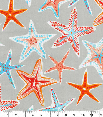 """P/K Lifestyes Outdoor Fabric 54""""-Stars Collide Pewter"""