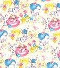 Easter Print Fabric-Vintage Hide N Seek Tan