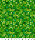 Keepsake Calico™ Cotton Fabric 43\u0022-Green Mosaic