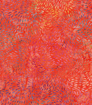 "Legacy Studio Batik Cotton Fabric 43""-Coral Bursts, , hi-res"