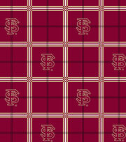 "Florida State University Seminoles Flannel Fabric 42""-Plaid, , hi-res"