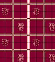 """Florida State University Seminoles Flannel Fabric 42""""-Plaid, , hi-res"""