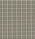 Waverly Upholstery Fabric-Country Square/Blackbird