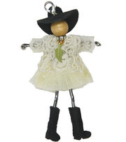 Laliberi Bohemian Doll Pendant-Fuzzy Boots Charity, , hi-res