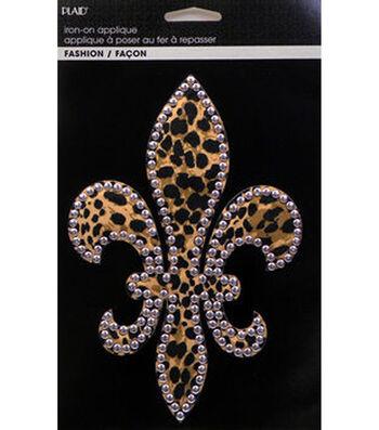 Plaid® Fashion Printed Fabric Applique with Nailheads