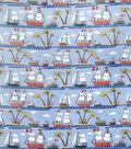 Home Decor 8\u0022x8\u0022 Fabric Swatch-Eaton Square Riverside / Blue
