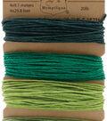 Hemptique #20 120\u0027 Hemp Cord Card-Emerald