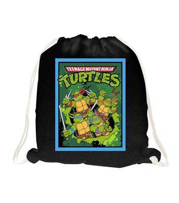 Nickelodeon® Teenage Mutant Ninja Turtles® No Sew Throw 48''-Retro Toss