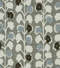 Home Decor 8\u0022x8\u0022 Fabric Swatch-Robert Allen Surreal Vines Indigo