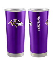 Baltimore Ravens 20 oz Insulated Stainless Steel Tumbler, , hi-res