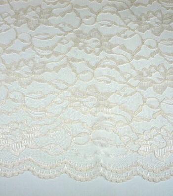 "Casa Collection Lace Fabric 58""-Eggnog"