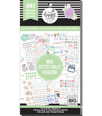 The Happy Planner Girl™ Daydreamer Collection Mini Value Pack