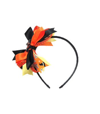 Maker's Halloween Witch Boots Headband with Ribbons