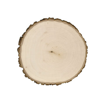"Basswood Country Round Plaque-11""x11""x1-5/8"""